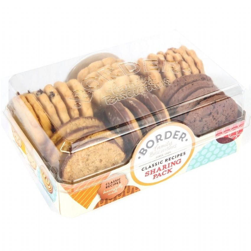Classic Recipes Sharing Pack Cookies - Border Biscuits 400g